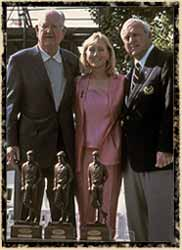 Byron Nelson, Jack Nicklaus, Arnold Palmer
